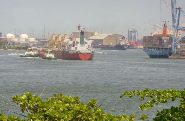 Lagos Marina and Apapa Quays