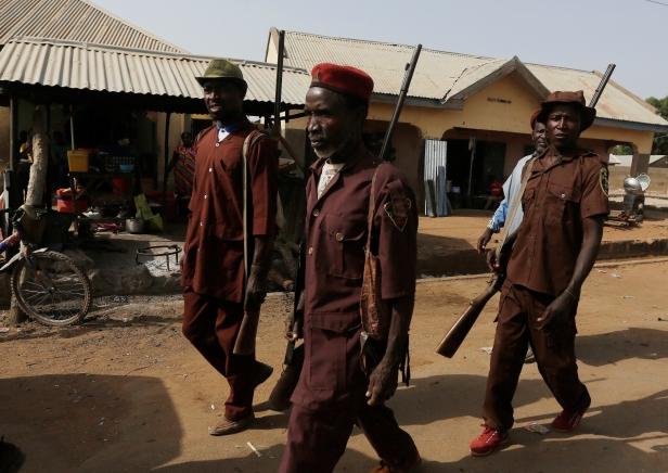 Nigeria Refugees Miliband